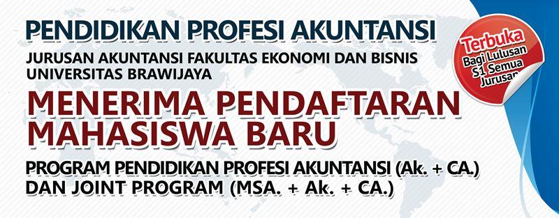 Informasi Penerimaan Mahasiswa Baru, PPAk & Joint Program, Angkatan XXIV