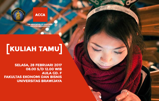 Kuliah Tamu ACCA (The Association of Chartered Certified Accountants)
