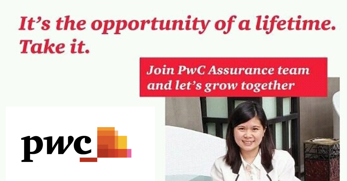 Join PwC Assurance team and let's grow together