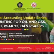Seminar Accounting for Oil & Gas dan PSAK banner fb